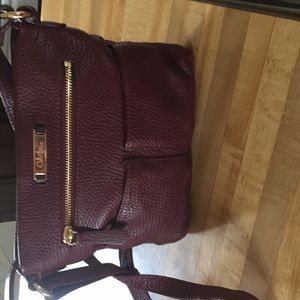 Cole Haan crossbody burgundy leather bag